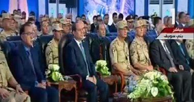 الرئيس السيسى يوجه بإزالة العوائق بمجرى النيل فى بنى سويف