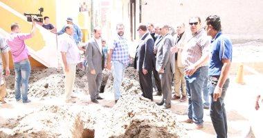 صور.. محافظ كفر الشيخ يتابع توصيل الغاز لـ6 آلاف منزل بالبرلس