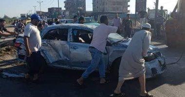"""الصحة تعلن إصابة 13 شخصا فى حادث مرورى بطريق """"شبرا - بنها"""""""