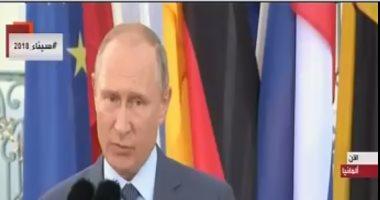 بوتين يشيد بوصول حجم التبادل التجارى مع ألمانيا إلى 18 مليار دولار