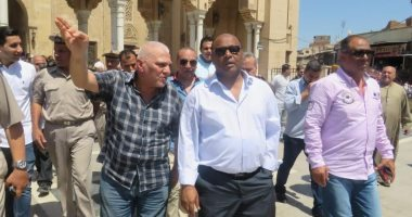 مدير أمن الغربية يتفقد خدمات تأمين مسجد السيد البدوى بطنطا