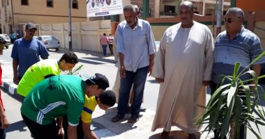 صور مستقبل وطن ينظم حملات نظافة وتجميل بمدن كفر الشيخ