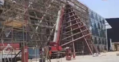متحدث الحكومة: انتهاء الإنشاءات الخارجية للمتحف الكبير بنسبة 100%