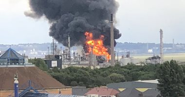 انفجار فى منصة إيرانية لاستخراج النفط فى مياه الخليج
