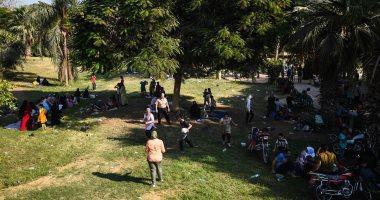 صور.. توافد المواطنين للقناطر الخيرية للاحتفال بعيد الأضحى