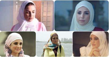 """حجاب درة فى """"يوم مصرى"""" ليس الأول.. 3 أعمال سابقة ظهرت فيها محجبة.. صور"""