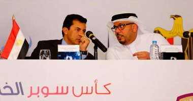 وزير الرياضة يخصص فريقا وزاريا لمباراة العين والوحدة فى السوبر الإماراتى