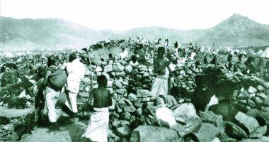 110 سنة شاهد صور نادرة لموسم الحج عام 1908 اليوم السابع