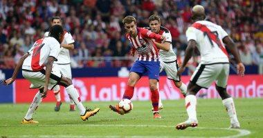 جريزمان يقود أتليتيكو لفوزه الأول فى الدوري الإسباني هذا الموسم.. فيديو