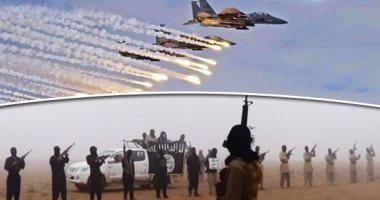 مقتل العشرات من داعش فى غارات للتحالف شرق سوريا