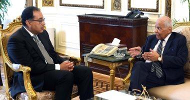 رئيس الوزراء يلتقى حازم الببلاوى