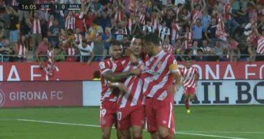 فيديو.. جيرونا يتقدم على ريال مدريد بالهدف الأول فى الدقيقة 17