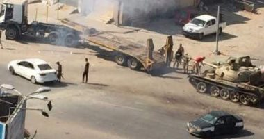 """""""الطوارئ"""" الليبية تدعو الأطراف المتنازعة لفتح ممر آمن لإجلاء السكان العالقين"""