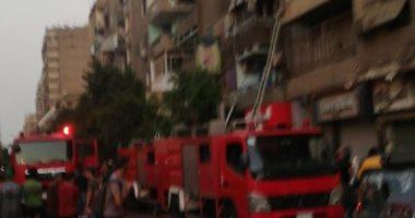 السيطرة على حريق داخل شقة سكنية فى ميدان لبنان دون إصابات