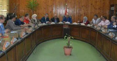 جامعة الزقازيق تعقد اجتماعا لبحث الاستعداد لاستقبال العام الجامعى الجديد