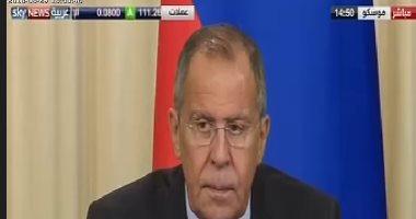 لافروف: مؤتمر موسكو يهدف لبحث عن سبل المصالحة فى أفغانستان
