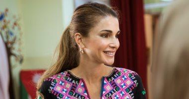 """الملكة رانيا تبحث التعاون التعليمى مع مؤسس مجموعة """"على بابا"""" فى الصين"""