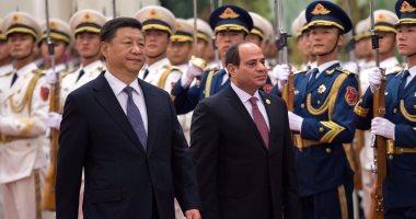 مراسم استقبال رسمية للسيسى فى بكين اتفاقيات لتنفيذ القطار الكهربائى ومشروعات بقناة السويس
