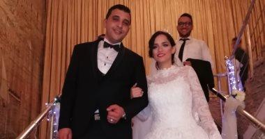 صور.. حفل زفاف آية شقيقة الزميل محمود محيى على النقيب أحمد جمال