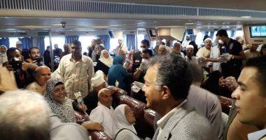 وزير النقل من جنوب سيناء: نقل 10 آلاف حاج منذ بدء رحلات عودة الحج البرى