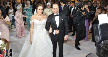 الفنان خالد زكى يحتفل بزفاف نجله إلى سارة أشرف بحضور نجوم الفن والسياسة