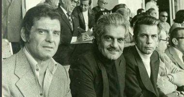 عمر الشريف مع صالح سليم