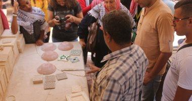 """التنمية الثقافية: مركز الفسطاط يستقبل وفد """"أنا عربى أنا عربية"""""""