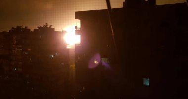 الدفاعات الجوية السورية تتصدى لأهداف معادية فى سماء دمشق