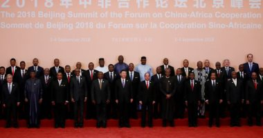 زعماء أفريقيا والصين يلتقطون الصور التذكارية خلال قمة فوكاك بمشاركة الرئيس السيسى