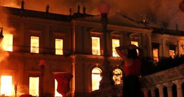 عالم بصريات يكشف كواليس حريق قطع آثار مصرية بمتحف البرازيل الوطنى