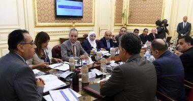 صور.. رئيس الوزراء يتابع مع قيادات النقل آليات تطوير السكة الحديد