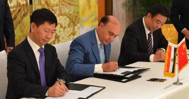"""مميش لـ""""اليوم السابع"""" من الصين: وقعنا 3 اتفاقيات باستثمارات 1.1 مليار دولار"""