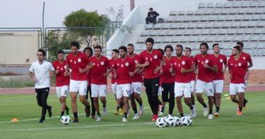 منتخب مصر يتدرب فى السادسة والنصف بالملعب الفرعى لبرج العرب