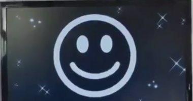 اضحك عشان تعدىمجمع تجارى بالدنمارك لا يفتح الباب إلا بالابتسامة