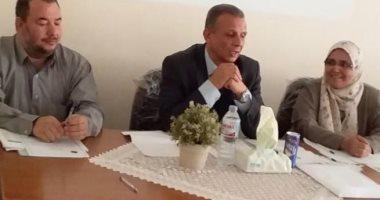 نائب رئيس جامعة طنطا يشدد على تجهيز المكتبات استعدادًا للعام الدراسى