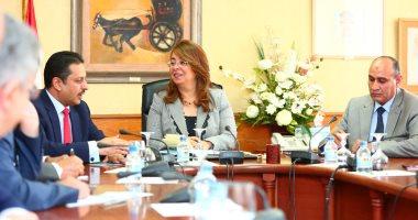 غادة والى: حريصون على تقديم كافة التسهيلات لتفعيل عمل اتحاد المحامين العرب