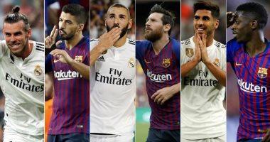المثلثات الهجومية الجديدة تشعل الصراع مبكرا بين برشلونة وريال مدريد
