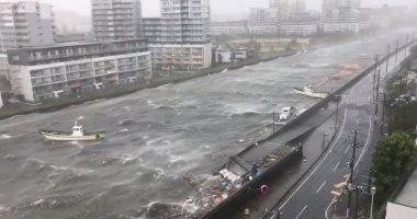 الإمارات تدعو مواطنيها فى اليابان لتوخى الحذر  بسبب إعصار جيبى