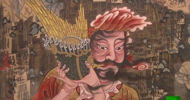 شاهد.. تحف 135 فنانا يابانيا فى متحف بوشكين بروسيا