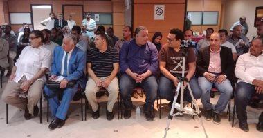صور .. بدء اجتماع الناشرين المصريين وهيئة الكتاب لمناقشة تفاصيل معرض الكتاب