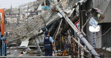 مصرع 9 أشخاص وإصابة 340 آخرين فى أقوى إعصار باليابان منذ 25 عاما