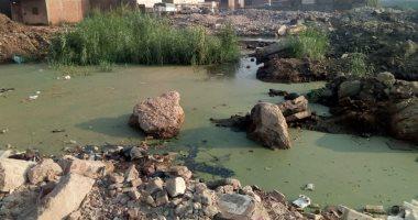 قارئ يشكو من منطقة عائمة على الصرف الصحى بشبرا الخيمة