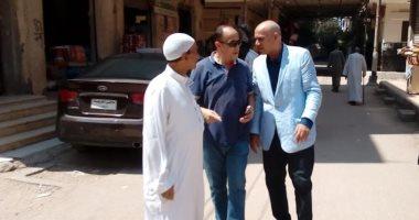 رئيس مدينة المحلة يشرف على حملة نظافة ويتفقد معرض السلع الغذائية