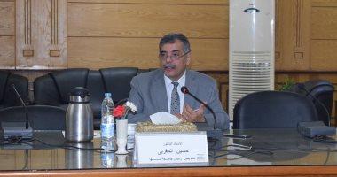 الدكتور حسين المغربي نائب رئيس جامعة بنها لشؤون التعليم والطلاب