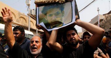 أهالى البصرة العراقية يشيعون جثامين قتلى المظاهرات