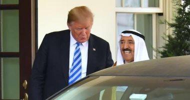 أمير الكويت والرئيس الأمريكى يعقدان مباحثات رسمية فى البيت الأبيض