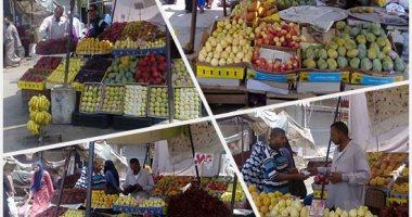 أسعار الفاكهة بسوق العبور اليوم.. اليوسفى بـ 5 جنيهات والبلح يبدأ بـ3 جنيهات