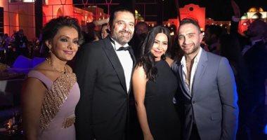 ماذا قالت شيرين عبد الوهاب عن صورة تجمعها برئيس الوزراء اللبنانى؟