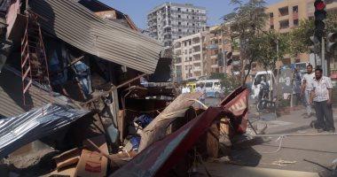 """قطاع الرقابة بـ""""التنمية المحلية"""" يشن حملة لإزالة التعديات بمدينة نصر"""