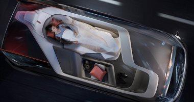 فيديو.. فولفو تستعرض سيارة المستقبل تعمل بشكل ذاتى ويمكن النوم داخلها